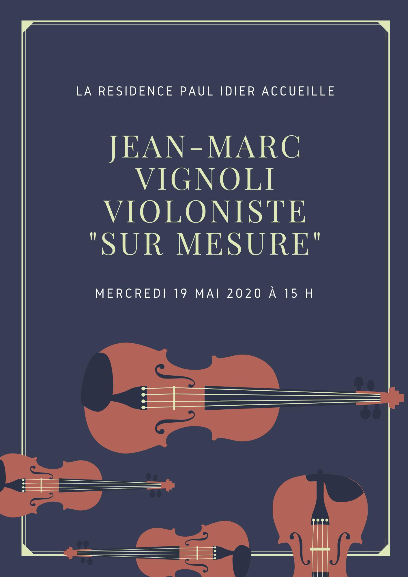 20210519 Jean-Marc Vignoli violoniste